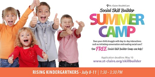 Social Skill Builder Summer Camp - Rising Kindergartners
