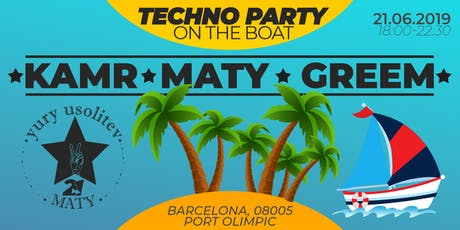 2-1: Techno Party on the Boat entradas