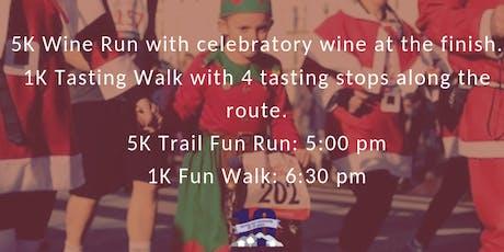Christmas 5K/1K Wine Run tickets