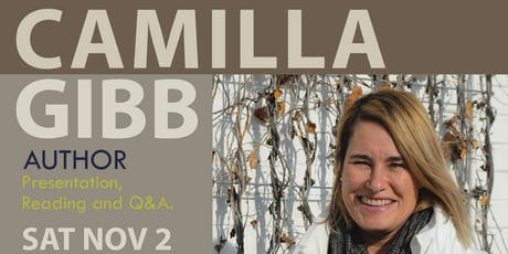 OBOA: Meet Camilla Gibb tickets