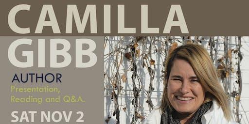 OBOA: Meet Camilla Gibb