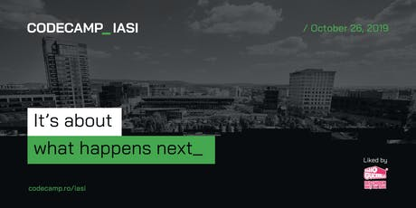 Codecamp Iasi, 26 October 2019 tickets