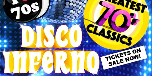70s Disco Inferno Party Night- Knebworth Aug 2019!