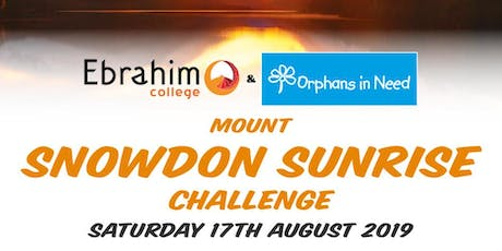Snowdon Sunrise Challenge  tickets
