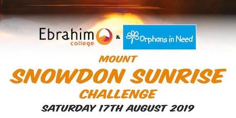 Snowdon Sunrise Challenge  tickets