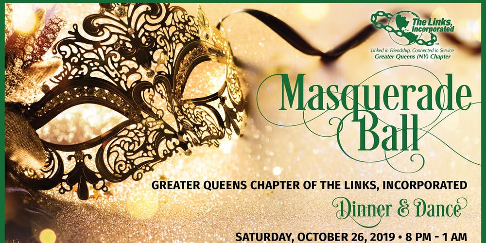 Greater Queens Chapter of the Links, Inc  Masquerade Ball 2019