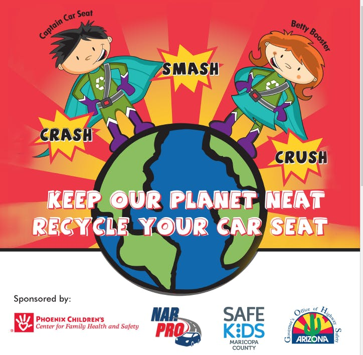Celebrate Earth Day by Volunteering: 11th Annual Safe Kids Child Seat Recycling Event