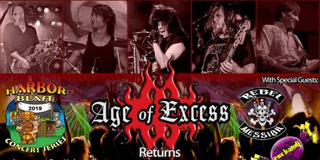 Harbor Blast presents Age of Excess with Rebel Messiah & RocKandi tickets