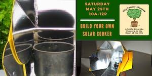 Build Your Own Solar Cooker Workshop