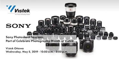 Sony Photoshoot Sessions - Celebrate Photography at Vistek Ottawa