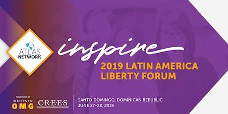 Latin America Liberty Forum 2019 tickets