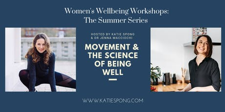 "Wellbeing Workshop - ""Movement & the science of being well"" tickets"