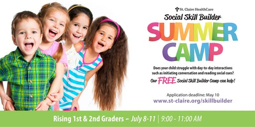Social Skill Builder Summer Camp - Rising 1st & 2nd Graders