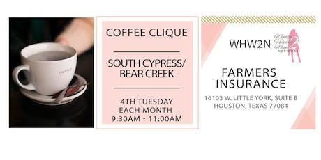 WHW2N - Coffee Clique® - Bear Creek tickets
