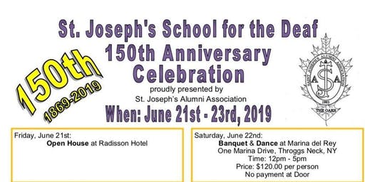 SJSD 150th Anniversary Celebration Weekend!!!