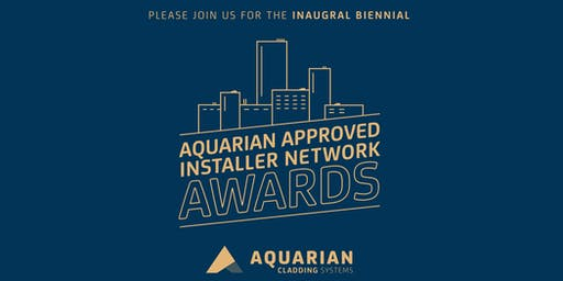 Aquarian Cladding Systems - Approved Installer Awards