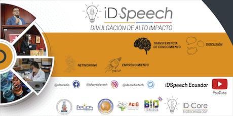 iD-Speech. Capítulo Universidad Politécnica Salesiana. entradas