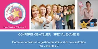Comment améliorer la gestion du stress et la concentration en 7 minutes ?