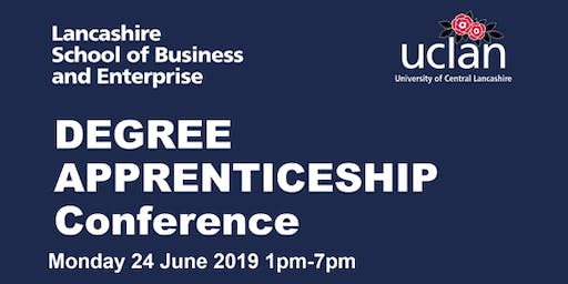 Lancashire School of Business and Enterprise Degree Apprenticeship Conference