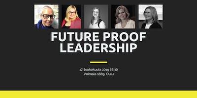 Future proof leadership