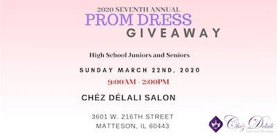 Chéz Délali Salon Prom Dress Giveaway