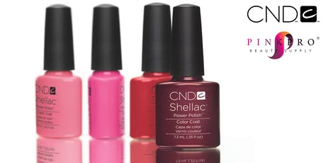 CND ArtRageous & Shellac Advantage tickets