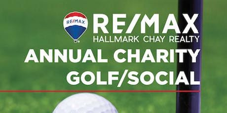 RE/MAX  Hallmark Chay Annual Charity Golf Tournament tickets