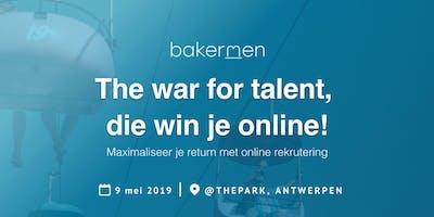 The war for talent, die win je online!