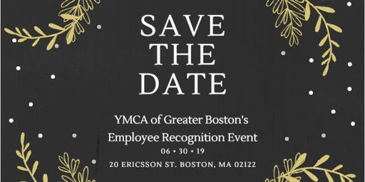 YMCA of Greater Boston: Annual Employee Recognition Event!