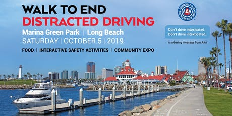 2019 Auto Club Walk to End Distracted Driving tickets