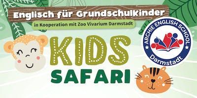 Kids Safari auf Englisch. In Kooperation mit dem Zoo Vivarium Darmstadt