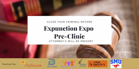 2019 Clear Your Criminal Record Pre-Clinic tickets