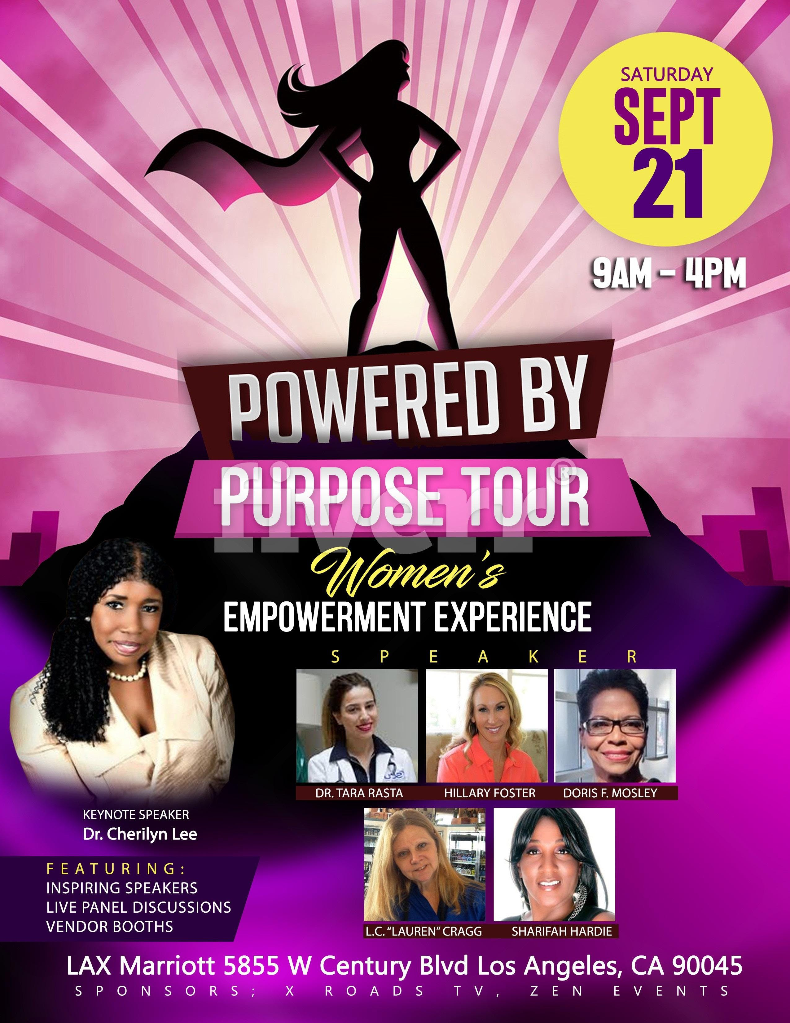 Powered by Purpose Tour: Women's Empowerment Experience (CA)