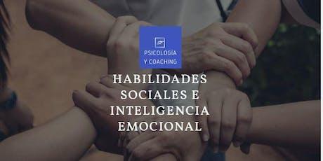 HABILIDADES SOCIALES E INTELIGENCIA EMOCIONAL. Sesiones gratis de Coaching individual por videoconferencia. entradas
