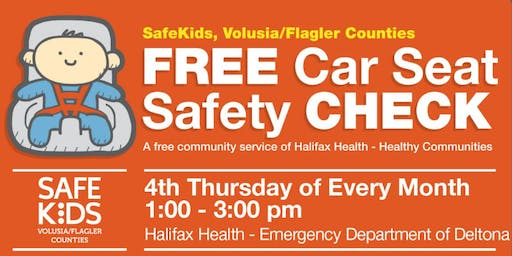 Safe Kids | Free Car Seat Safety Check Deltona