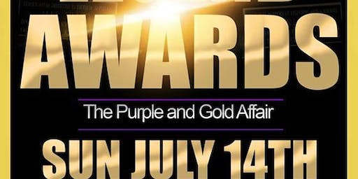 Rebirth Magazines 6th Annual Legend Awards Purple and Gold Affair