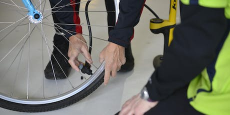 55+ Women-only Tire-changing and Basic Bike Maintenance tickets