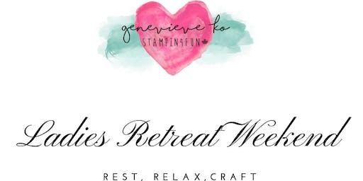 Fall 2019 Ladies Retreat Weekend