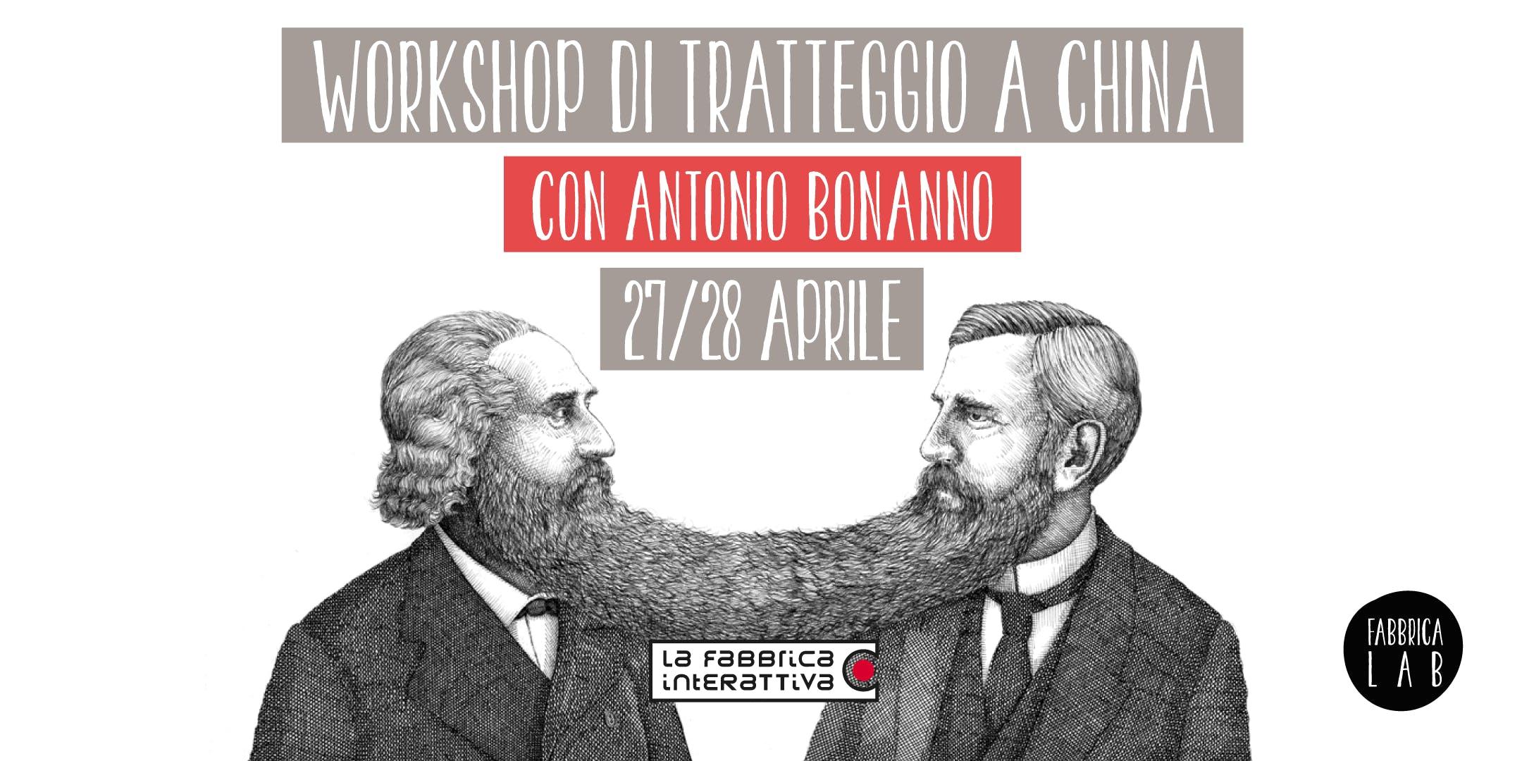 Workshop di tratteggio a china con Antonio Bonanno