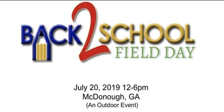 Back2School Field Day tickets