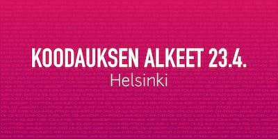 Ompeluseura levelUP koodarit: Koodauksen alkeet Helsinki 23.4.