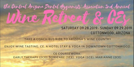 CADHA 2nd Annual Wine Retreat and CE tickets