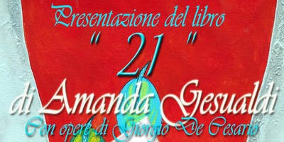 """Amanda Gesualdi presenta il suo libro """"21"""" a Gallipoli"""