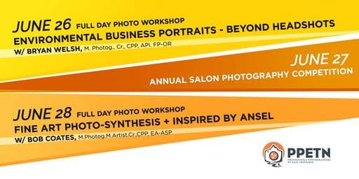 June 26 / 28  -  PPETN Full Day Photography Workshops