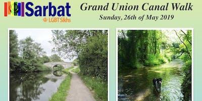 Sarbat walks the Grand Union Canal