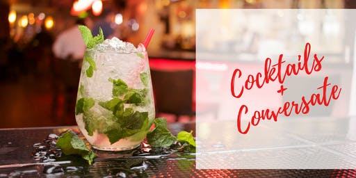 Cocktails + Conversate - {Be part of something BIG}
