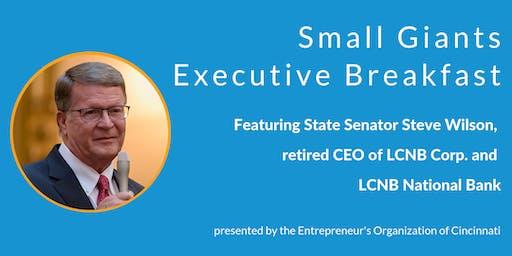 Small Giants Executive Breakfast featuring Steve Wilson