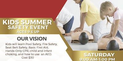 Kids Summer Safety Event