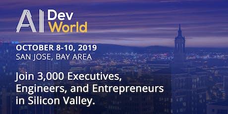 AI DevWorld 2019 tickets