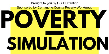 Comanche County Poverty Simulation for Decision Makers tickets